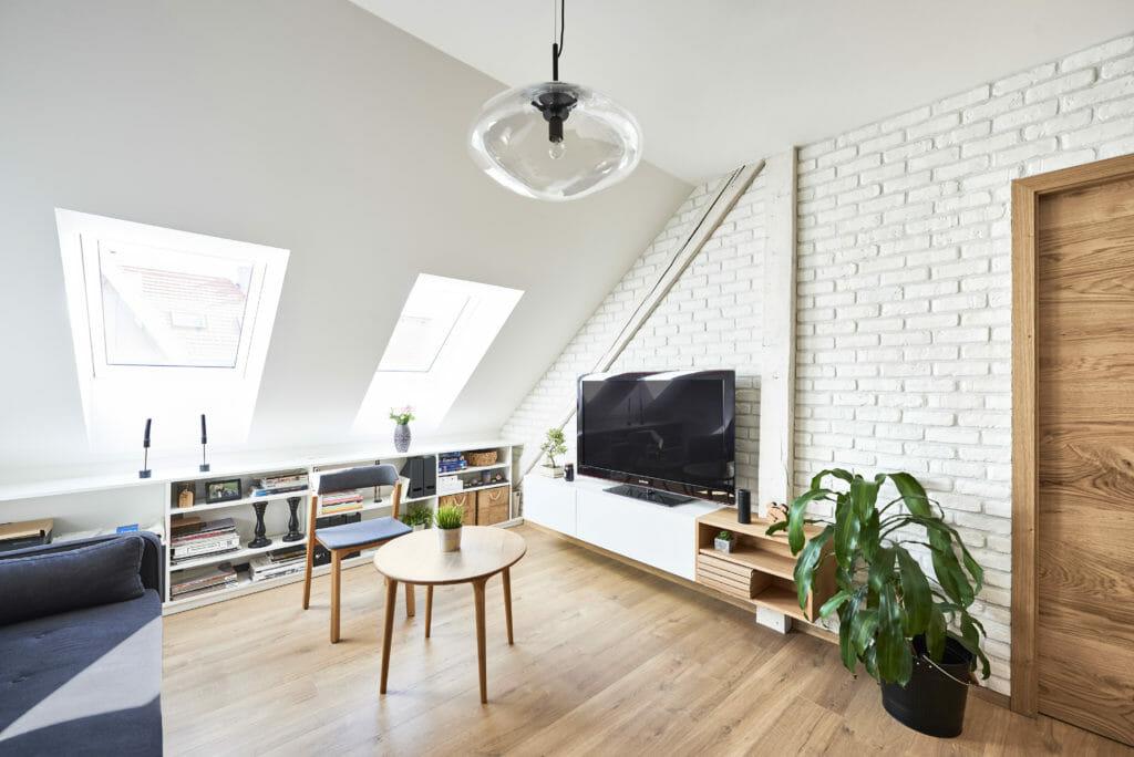 Foťte interiér z rohu